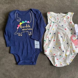 🆕Carter's Baby Girl Outfits